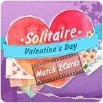 Solitaire: Valentine's Day — Match 2 Cards