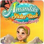 Amanda's Sticker Book: Amazing Wildlife