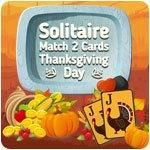 Solitaire— Match 2 Cards— Thanksgiving Day