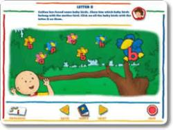 Caillou Preschool — Alphabet, Colors, & Shapes